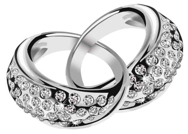 Transparent Wedding Ring Jewellery Platinum Clipart for Occasions