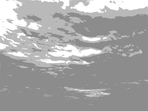 Transparent Water Black And White Sky Water Clipart for Nature