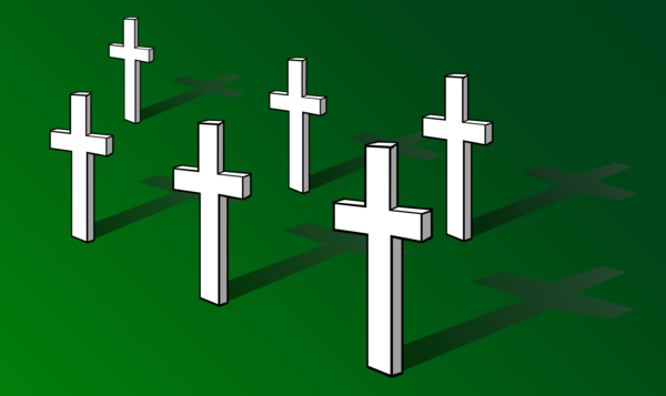 Transparent Christian Cross Line Symbol Clipart for Religion
