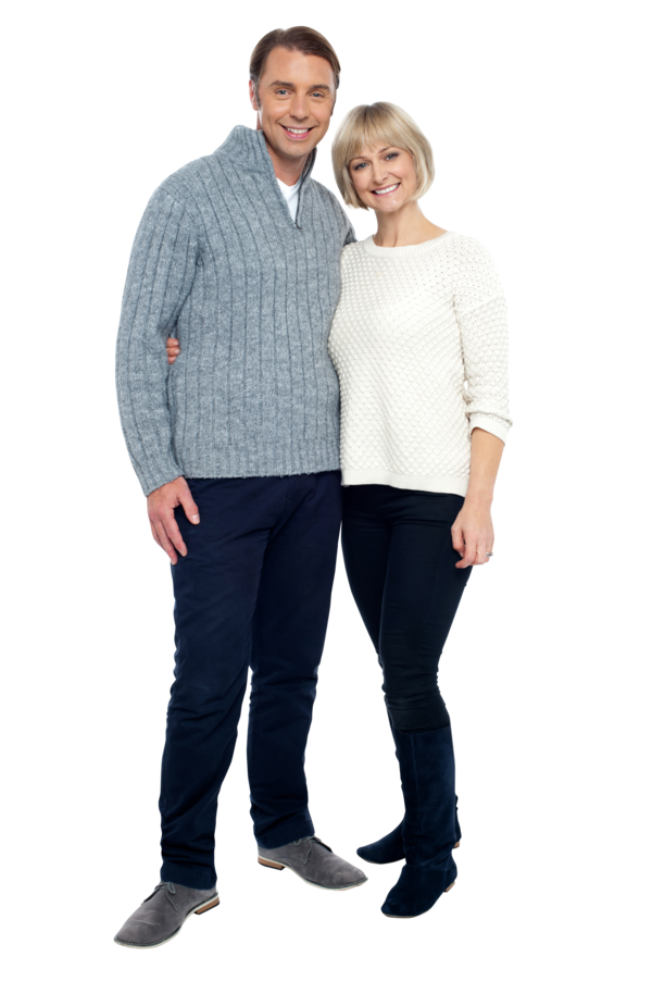 Transparent Family Clothing Sleeve Standing Clipart for People
