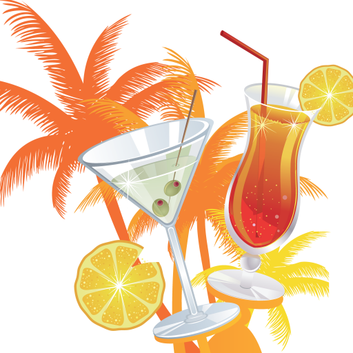 Transparent Juice Drink Cocktail Garnish Non Alcoholic Beverage Clipart for Drink