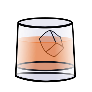 Transparent Whiskey Line Area Angle Clipart for Drink
