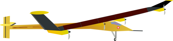 Transparent Airplane Wing Line Airplane Clipart for Transportation