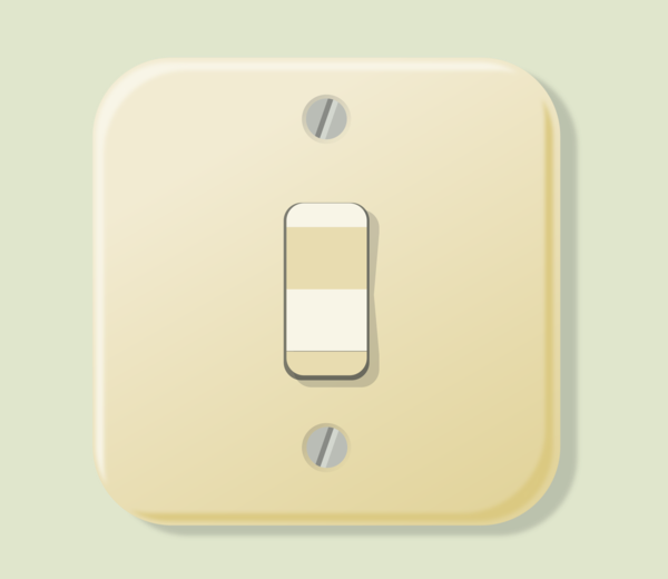 Transparent Electrician Light Switch Switch Rectangle Clipart for Occupations