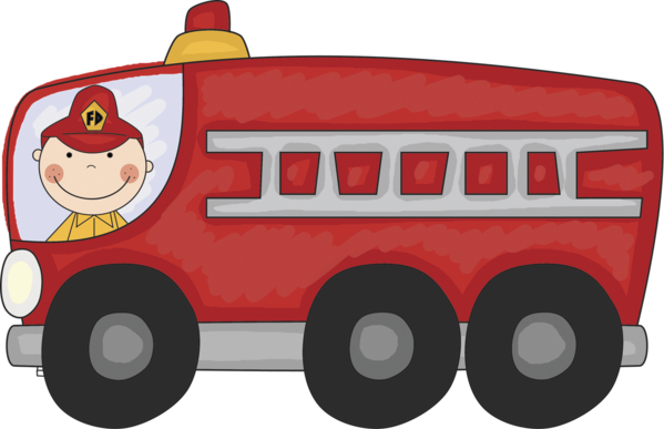 Transparent Fire Vehicle Christmas Santa Claus Clipart for Nature