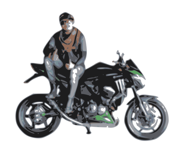Transparent Car Motorcycle Vehicle Motorcycle Accessories Clipart for Transportation
