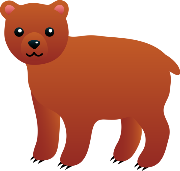 Transparent Bear Bear Snout Whiskers Clipart for Animals