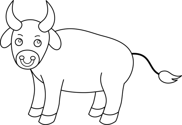 Transparent Elephant Black And White Line Art Indian Elephant Clipart for Animals