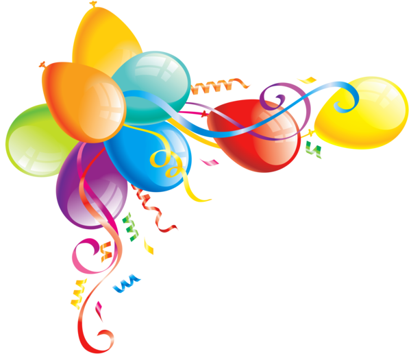 Transparent Birthday Line Circle Clipart for Occasions