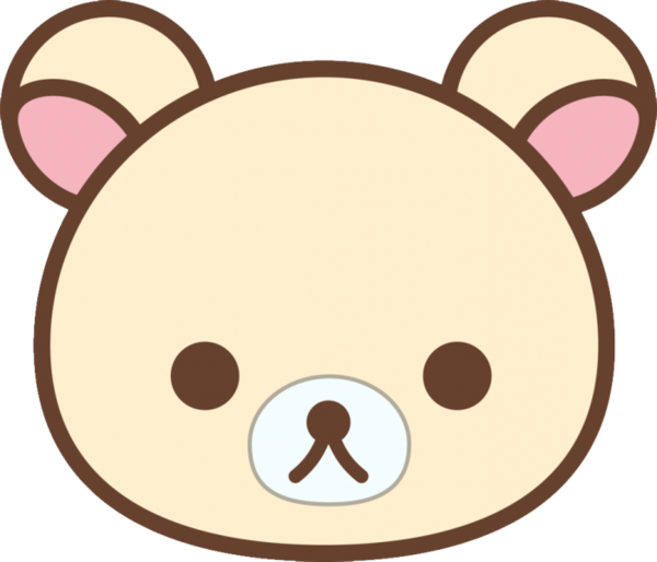 Transparent Bear Head Headgear Whiskers Clipart for Animals