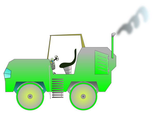Transparent Grass Vehicle Technology Line Clipart for Nature