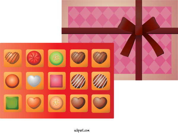 Free Holidays Honmei Choco Food Confectionery For Valentines Day Clipart Transparent Background
