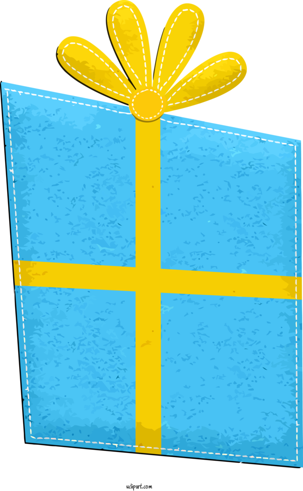 Free Holidays Yellow Rectangle For Christmas Clipart Transparent Background