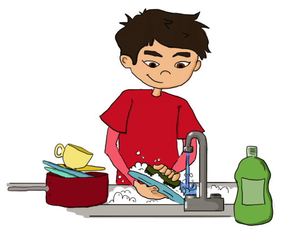 Transparent Boy Boy Toddler Eating Clipart for Activities