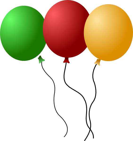 Transparent Hot Air Balloon Balloon Line Party Supply Clipart for Transportation
