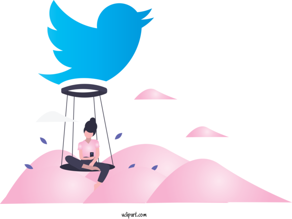 Transparent Icons Cartoon Bird For Social Media Icon for Icons