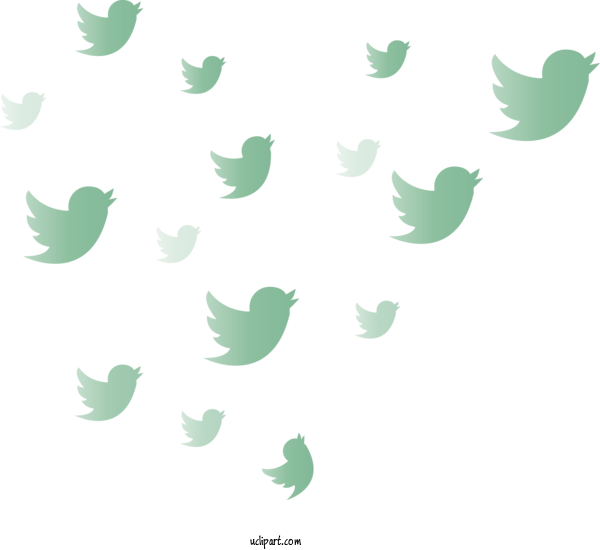 Transparent Icons Green Leaf Pattern For Social Media Icon for Icons