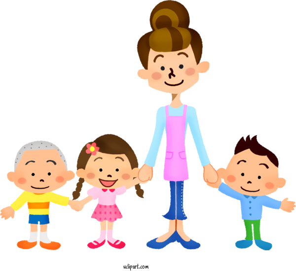 Transparent School Cartoon People Child For Back To School for School