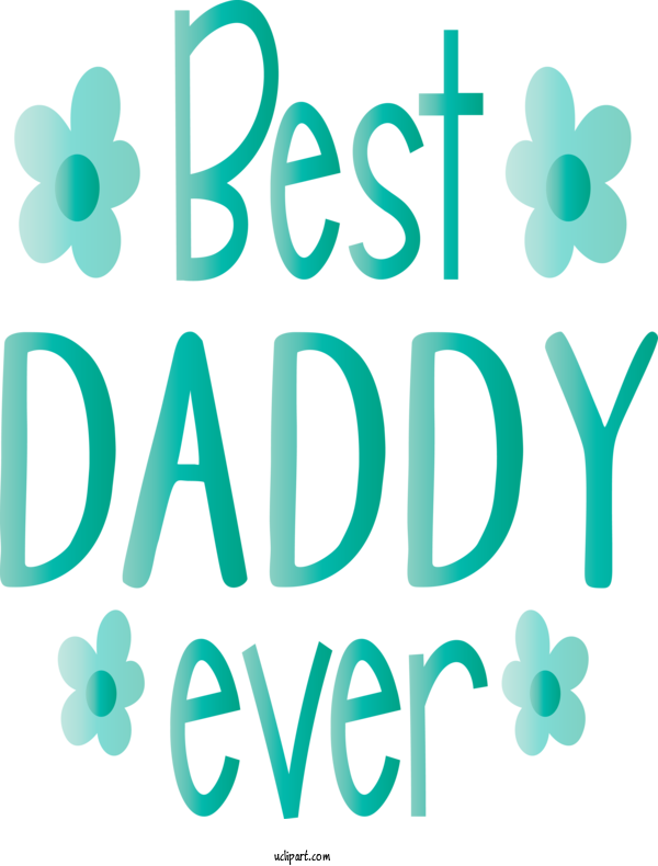 Transparent Holidays Text Green Font For Fathers Day for Holidays