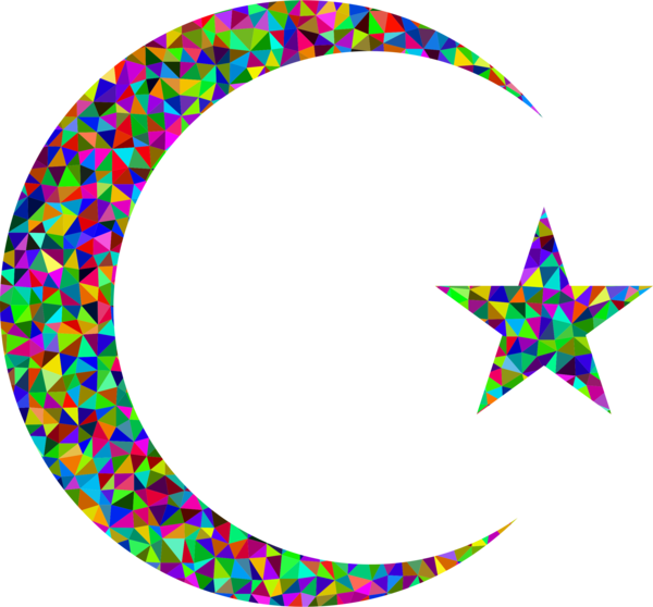 Transparent Islam Line Circle Body Jewelry Clipart for Religion