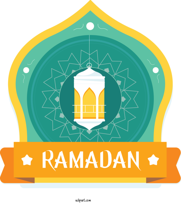 Transparent Holidays Logo Font Line For Ramadan for Holidays