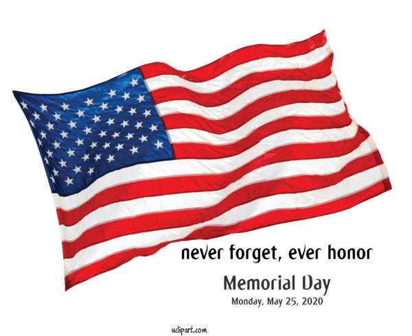 Transparent Holidays United States Flag Of The United States For Memorial Day for Holidays