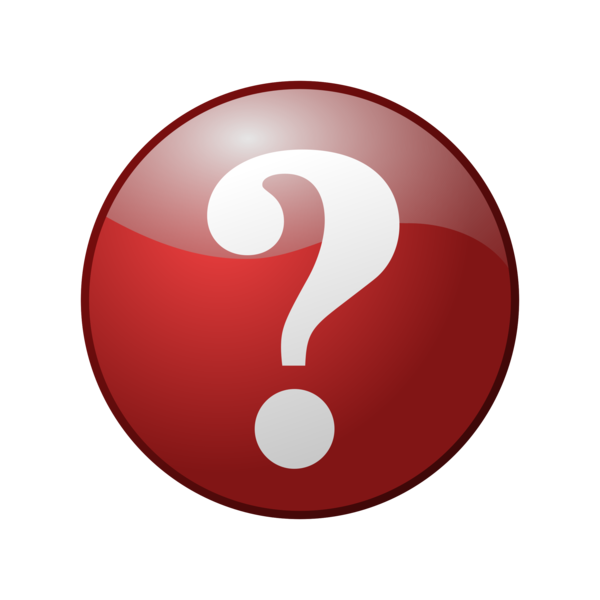 Transparent Question Mark Circle Symbol Clipart for Icons