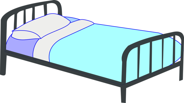 Transparent Child Furniture Bed Frame Bed Clipart for People