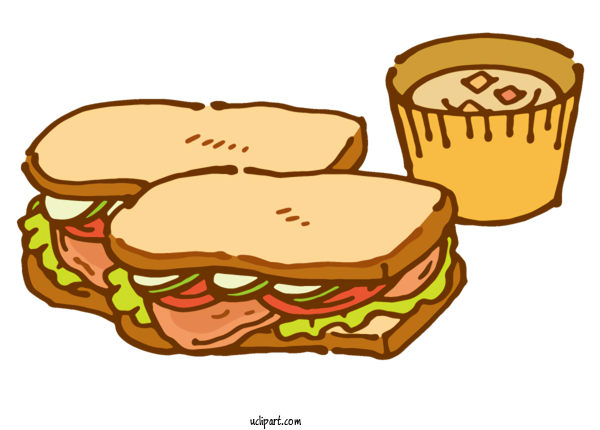 Transparent Food Sandwich Cheeseburger Coffee For Fast Food for Food
