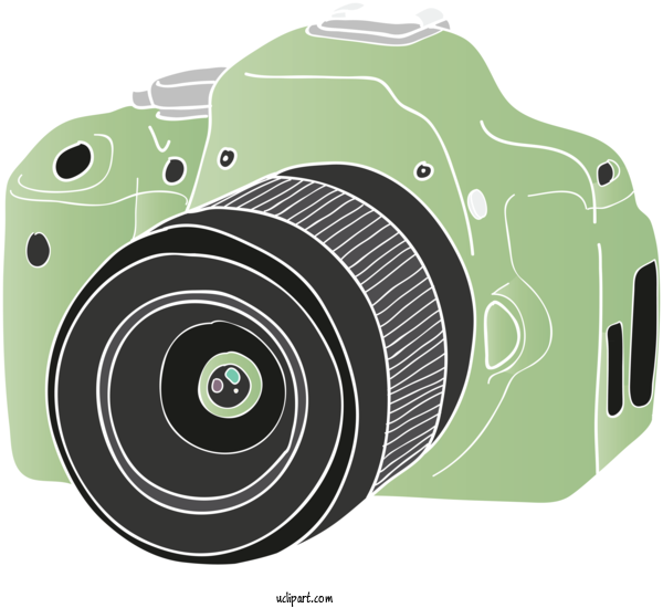 Free Icons Digital SLR Mirrorless Interchangeable Lens Camera Camera Lens For Camera Icon Clipart Transparent Background