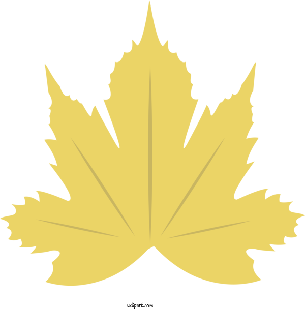 Free Nature Maple Leaf Leaf Balloon For Autumn Clipart Transparent Background