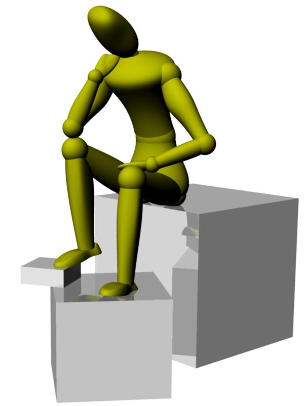 Transparent Standing Standing Joint Hand Clipart for Activities