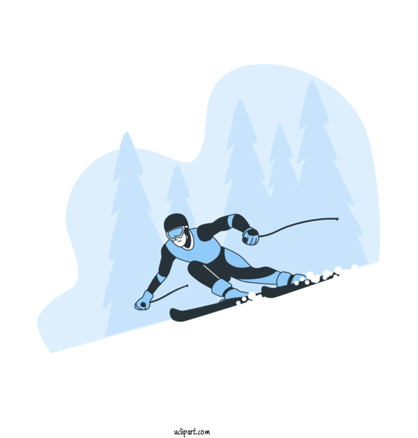 Transparent Nature Skiing Winter Sports Ski For Winter for Nature