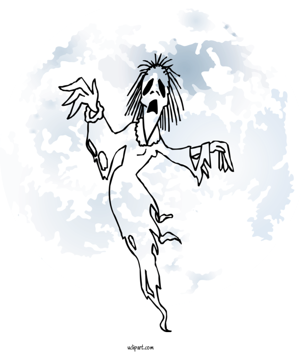 Transparent Holidays Ghost Drawing Casper For Halloween for Holidays