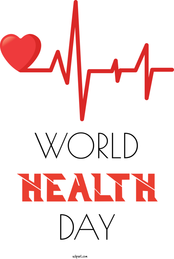 Transparent Holidays Logo Meter Valentine's Day For World Health Day for Holidays