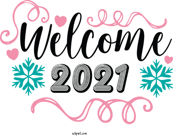 Transparent Holidays Winter Season Welcome 2021 For New Year for Holidays