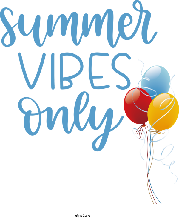 Free Nature Logo Balloon Party For Summer Clipart Transparent Background