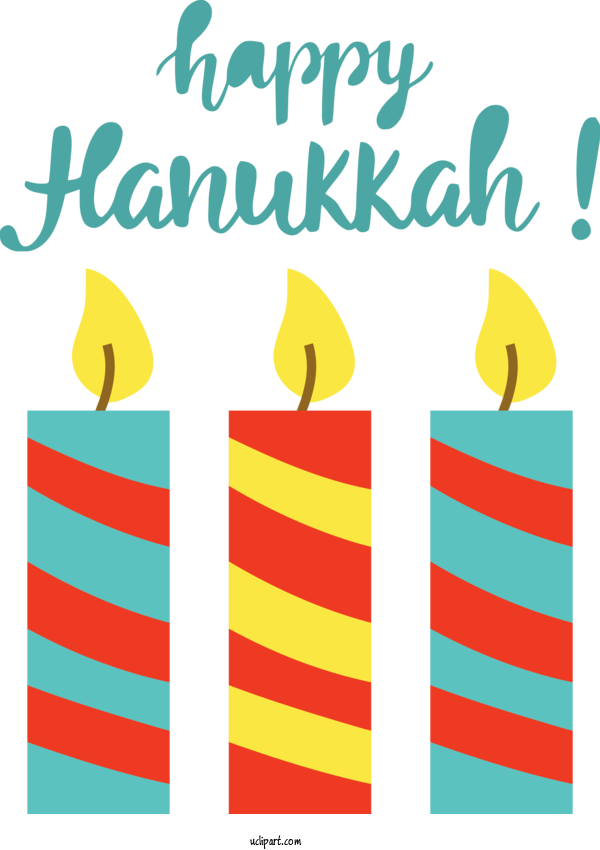 Free Holidays Design Line Yellow For Hanukkah Clipart Transparent Background